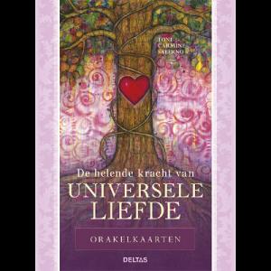 De helende kracht van de universele liefde orakelkaarten