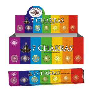 wierook 7 Chakras - Green Tree