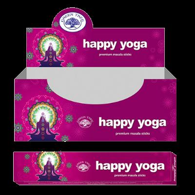 wierook Happy Yoga - Green Tree